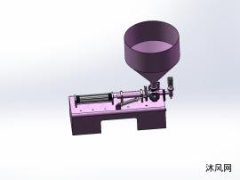 單頭膏體灌裝機0-100ml