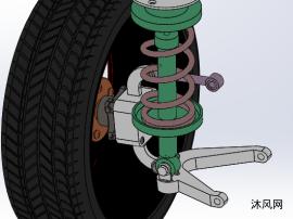 哈弗H6越野车双横臂独立后悬架设计