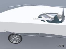 sw太阳能汽车模型