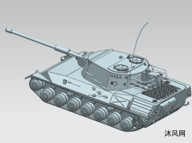 二戰坦克模型設計