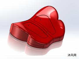 蝴蝶型按摩垫