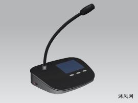 演讲台话筒模型