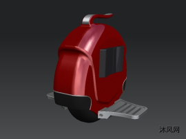 獨輪電動平衡車模型