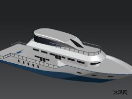 游艇外觀模型