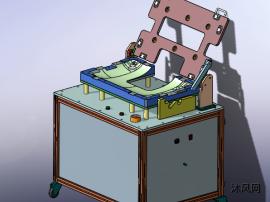 solidworks组装FPC排线治具