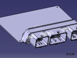 VCU 主板带连接器