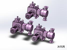 3款YTUH-2.4-01计量泵模型