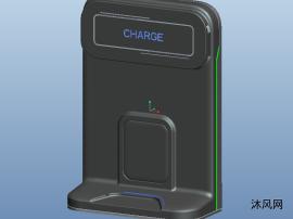 家用充电桩三维模型图纸
