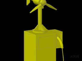 风力发电充电桩
