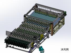 纸箱包装机械-单瓦输送排纸