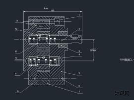 齒輪油泵薄泵體