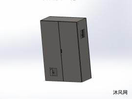 双门柜(采用威图铰链和锁)