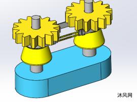 sw齿轮传动机构设计