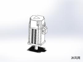 两款德马克伺服电机