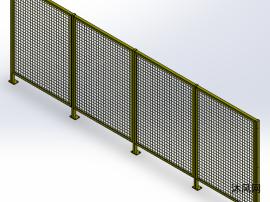 区域隔离防护栏