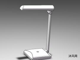 sw家用折疊臺燈模型
