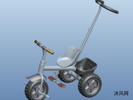 兒童三輪車模型圖紙