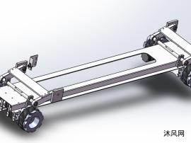 移动车轮组件整体结构