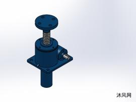 5款 SWL35(1型升降機)蝸輪螺桿升降機