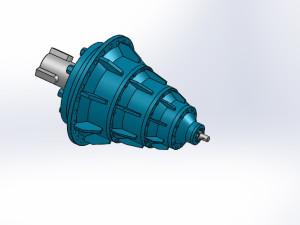 7款 NCF型行星齒輪減速器