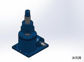 4款 SWL15(2型升降機)蝸輪螺桿升降機