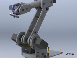 六軸機械手模型
