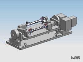 转向器壳四轴液压液压夹具 OP20
