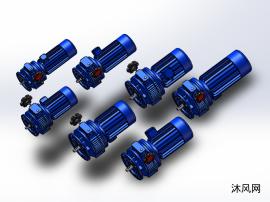 7款UDLF..Y立式无极变速器模型