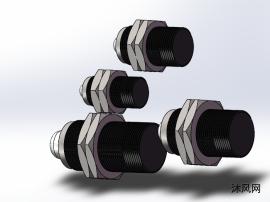 4种套筒式HCH系列缓冲器