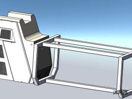 焊字机钣金机箱