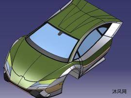 跑车车头设计
