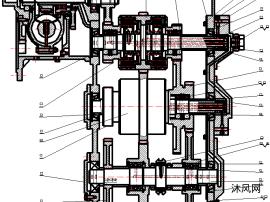 裝載機變速器設計