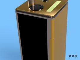 雙門智能飲水機模型