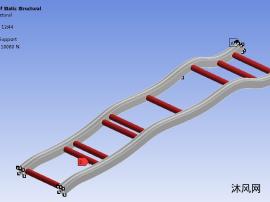 电动汽车车架拓扑优化分析