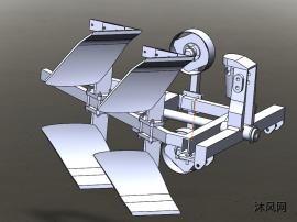 新型翻转犁挂接与翻转机构设计方案