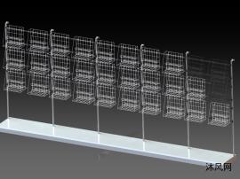 網籃掛架模型