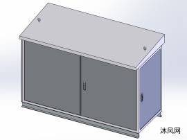 发电机外壳钣金设计