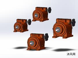 4种DMBW-S系列大变速比无极变速器
