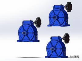 3种UD-AD卧式轴输入无极变速器