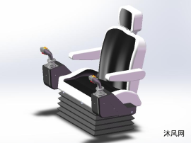 殘疾人駕駛座椅設計模型