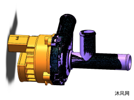 汽車配件葉輪泵