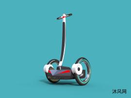 脚踏电动平衡车设计(原创设计,全网独此一份)