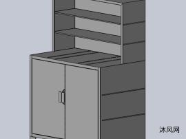 简易置物柜