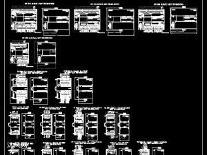 西门子Siemens S7-200 SMART PLC 所有模块外形尺寸图IO接线图CAD图纸