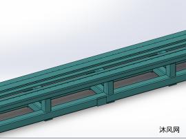 原创---焊接结构底座模型