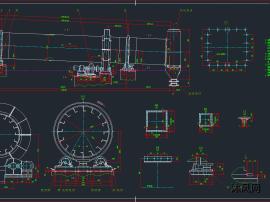 φ3X25M烘干机图纸(中矿公司)(cad套图)