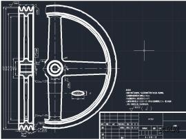 辐轮式V带轮