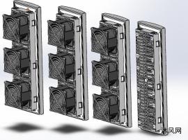 4款TX9988-過濾風扇風扇及過濾器模型