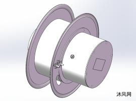 电缆卷筒模型