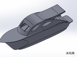 游艇设计水上娱乐模型